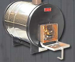 wood fired hot tub water heater